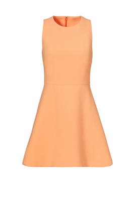 Orange Georgia Dress by Elizabeth and James