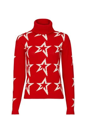 Red Star Dust Sweater by Perfect Moment
