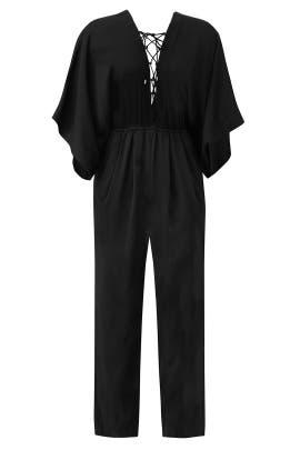 Black Mirabel Jumpsuit by Rachel Zoe