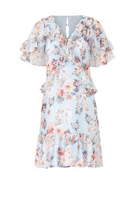 Floral Madrid Dress by Shoshanna