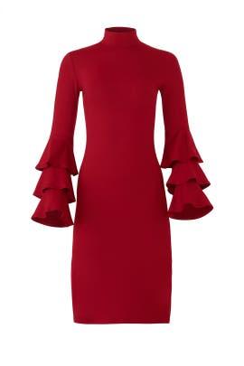 Red Darla Dress by Susana Monaco