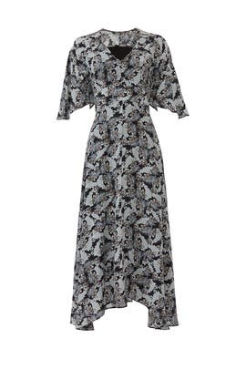 Abstract Midi Dress by Slate & Willow