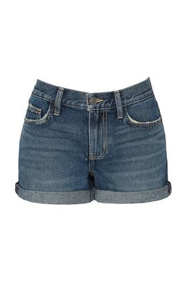 The Boyfriend Rolled Shorts by Current/Elliott