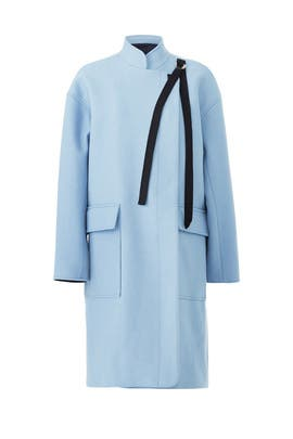 Blue A-Line Coat by Derek Lam 10 Crosby