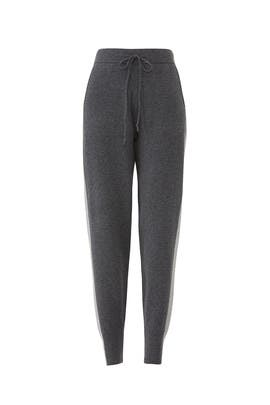 Tuxedo Stripe Sweatpants by Derek Lam 10 Crosby