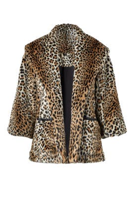 Leopard Topper Jacket by Josie by Natori