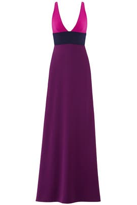Viola Colorblock Gown by Jill Jill Stuart