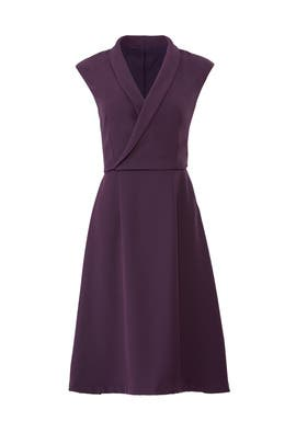 Blackberry Allen Dress by Of Mercer
