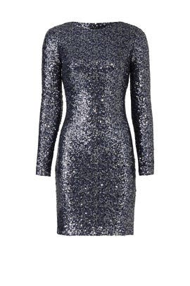 Sequin Disco Dress by Badgley Mischka