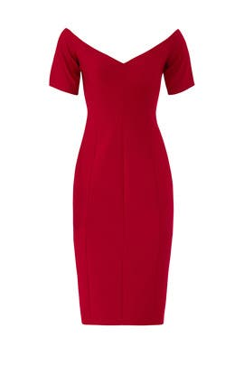 Crimson Birch Dress by Cinq à Sept