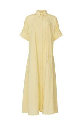 Yellow Collared Maxi by Co