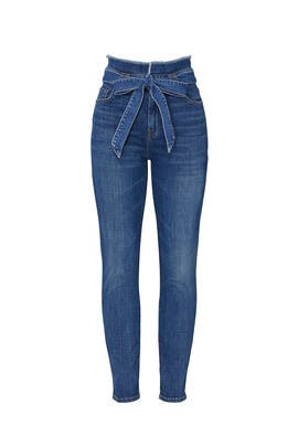 Roxanne Paper Bag Jeans by 7 For All Mankind