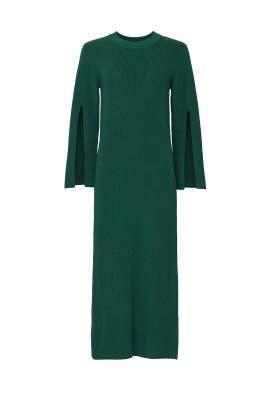 Green Knit Dress by Great Jones