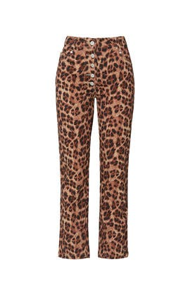 Leopard Junior Jeans by MIAOU