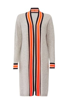 Striped Long Cardigan by Scotch & Soda