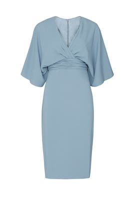 Blue Kimono Sheath by Theia