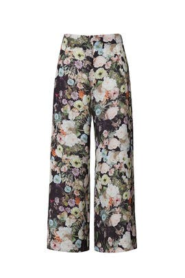 Floral Printed Culottes by Adam Lippes Collective