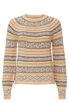 Novelty Stripe Sweater by Sweet Baby Jamie