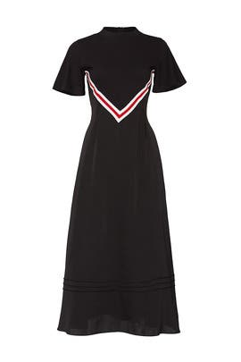Jersey Layered Dress by SJYP
