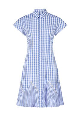 Blue Gingham Dress by Thakoon Collective