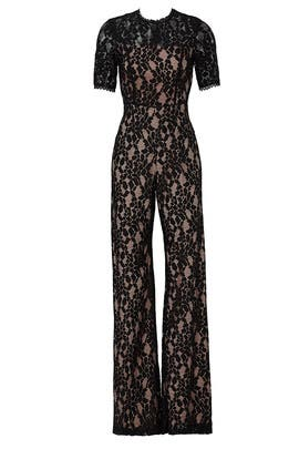 Janus Lace Jumpsuit by Alexis