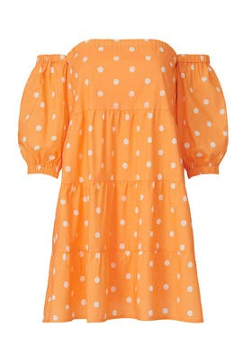 Orange Quinn Dress by Color Me Courtney