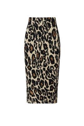 Leopard Kara Skirt by Diane von Furstenberg