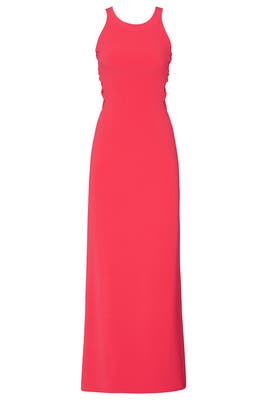 Fuchsia Twist Gown by HALSTON
