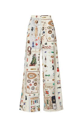 Objects Print Pants by MONSE