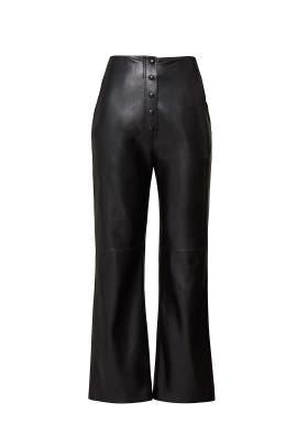 Faux Leather Sora Pants by Nanushka