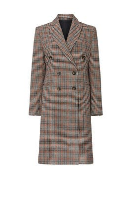 Double Breasted Plaid Coat by Sweet Baby Jamie