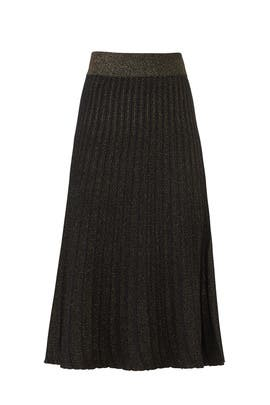 Neal Pleated Knit Skirt by A.L.C.