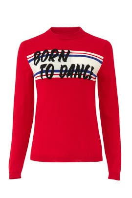 Born To Dance Latine Sweater by ba&sh