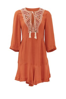 Orange Sahara Dress by Twelfth Street by Cynthia Vincent