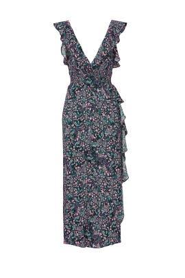 Black Floral Print Dress by Iro