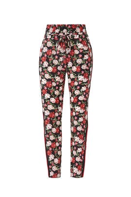 Floral Lulu Trousers by The Kooples