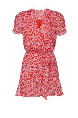 Printed Zora Dress by Tanya Taylor