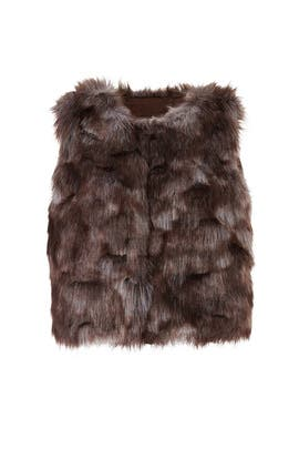 Foxy Lady Faux Fur Vest by BB Dakota