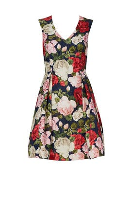 Multi Rose Floret Dress by Blugirl