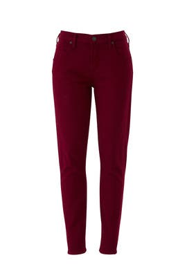 Red Elsa Mid Rise Jeans by Citizens Of Humanity