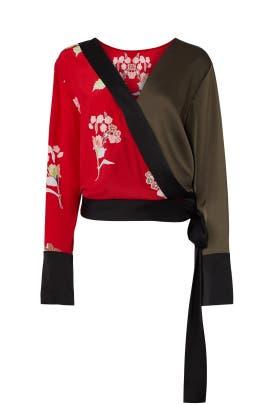 KoKomo Floral Top by Diane von Furstenberg