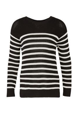 Striped Gianna Sweater by Fuzzi