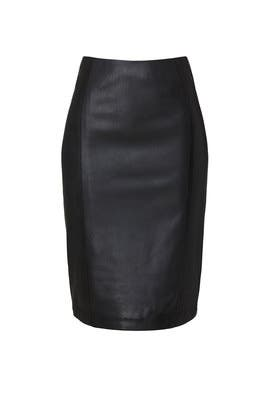 Leather Pencil Skirt by KF/KaufmanFranco Collective