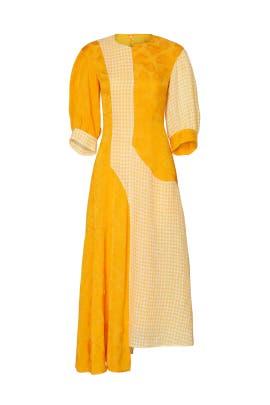 Printed Dylan Dress by Rejina Pyo