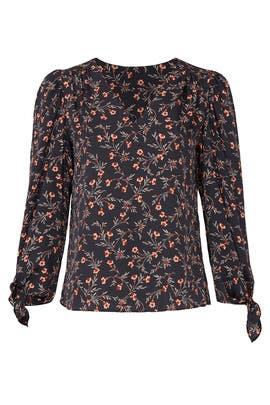 Lia Floral Top by Rebecca Taylor
