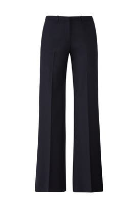 Navy Flare Pants by Theory