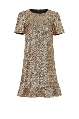 Collection Gold Sequin Dress by Draper James