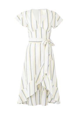 Striped Flare Dress by J.O.A.