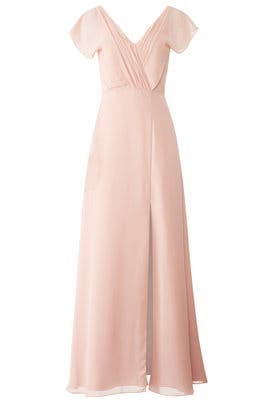 Pink Gwen Gown by Monique Lhuillier Bridesmaid