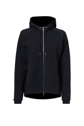 Black Tech Fleece Hoodie by Nike
